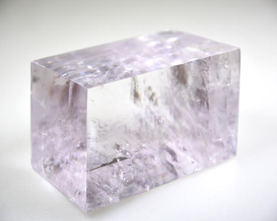 :Lavender Optical Calcite Crystal