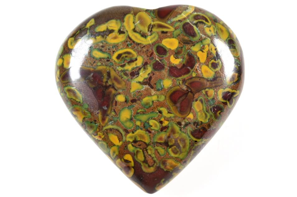 fruit jasper heart