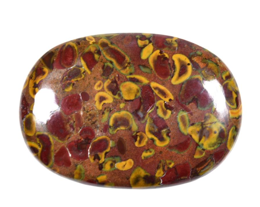 fruit jasper pebble