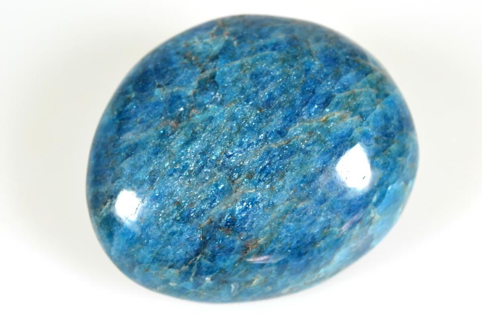 Blue Apatite Pebble