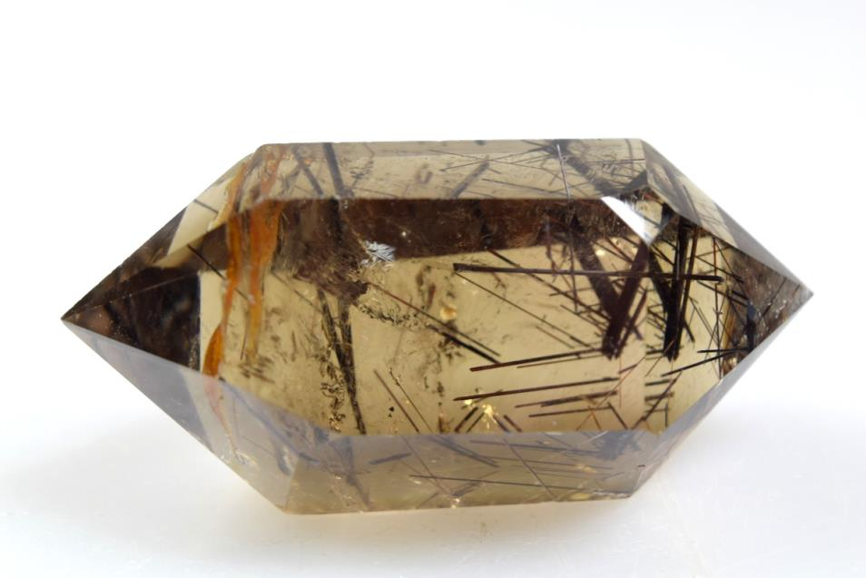 included smoky quartz DT point