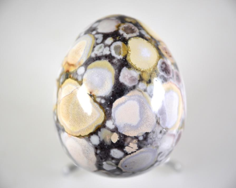 King Cobra Jasper Egg 6.3cm | Image 1