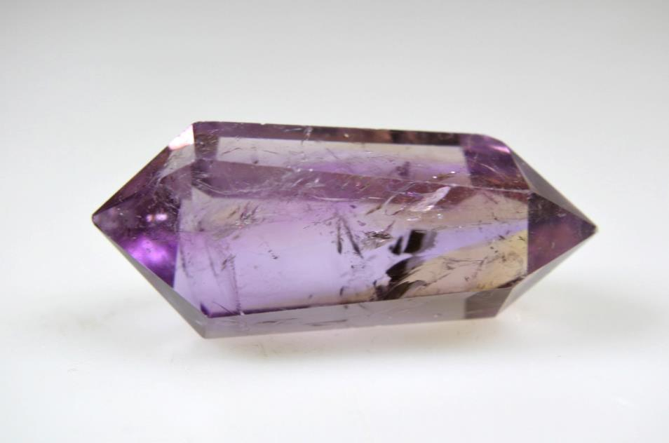 Ametrine Double Terminated Quartz Point 4.45cm | Image 1