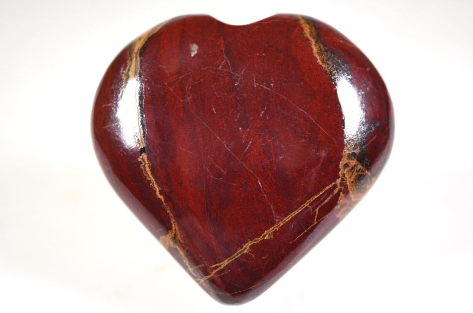 Red Jasper Heart 6.2cm | Image 1