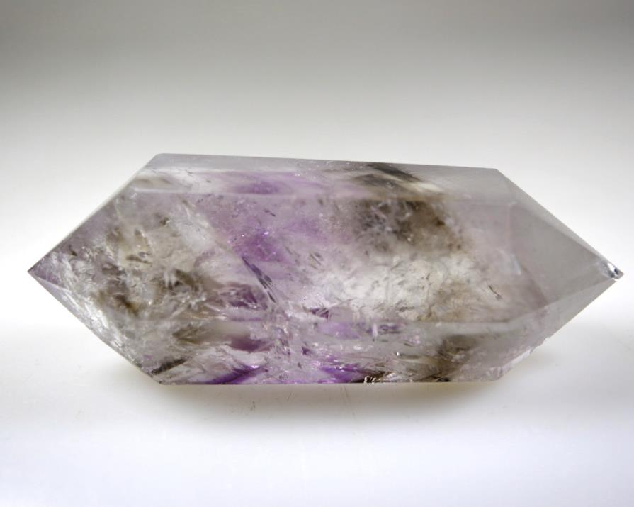 Smoky Amethyst Double Terminated Point 8.75cm | Image 1