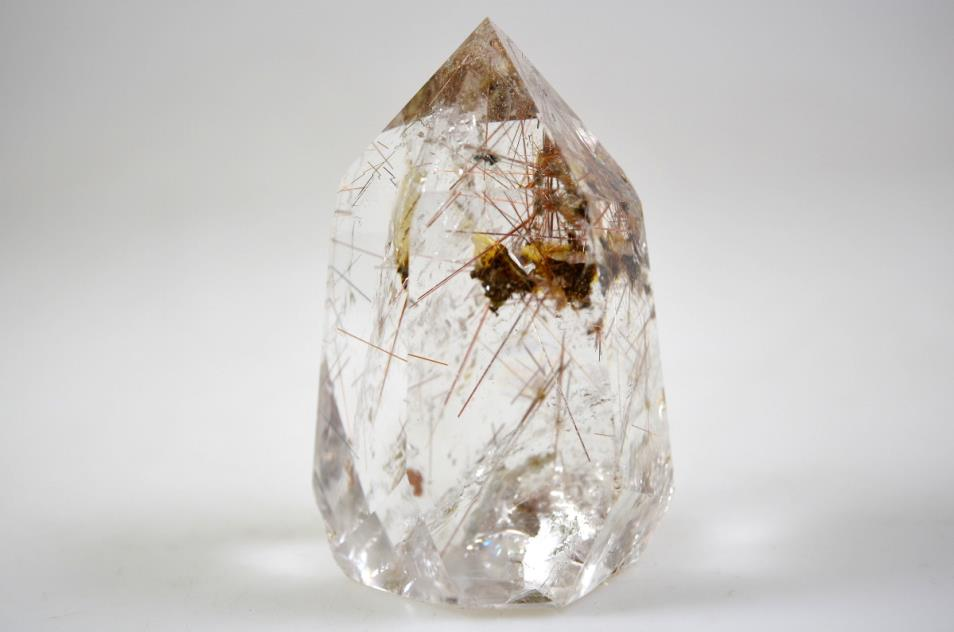 Rutilated Quartz Point 7.9cm | Image 1
