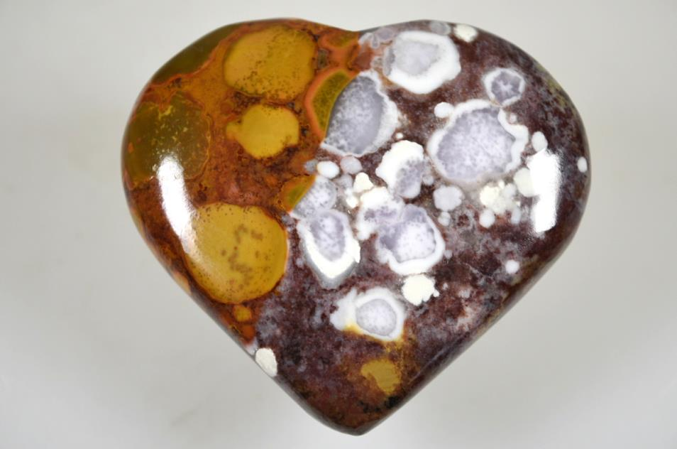 King Cobra Jasper Heart 7.1cm | Image 1