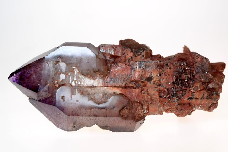 Amethyst Elestial Sceptre with Inclusions 166 grams | Image 1
