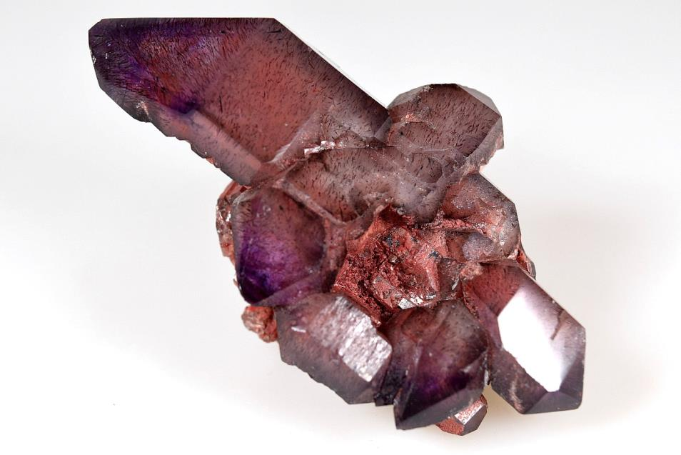 Amethyst Elestial Sceptre with Inclusions 140 grams | Image 1