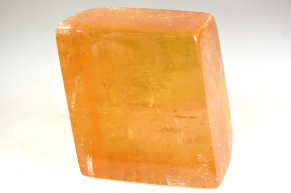 Optical Honey Calcite Crystal 356grams | Image 1