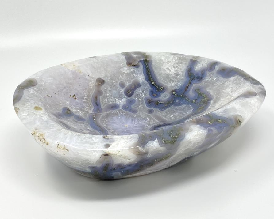 Moss Agate Bowl 26.5cm | Image 1