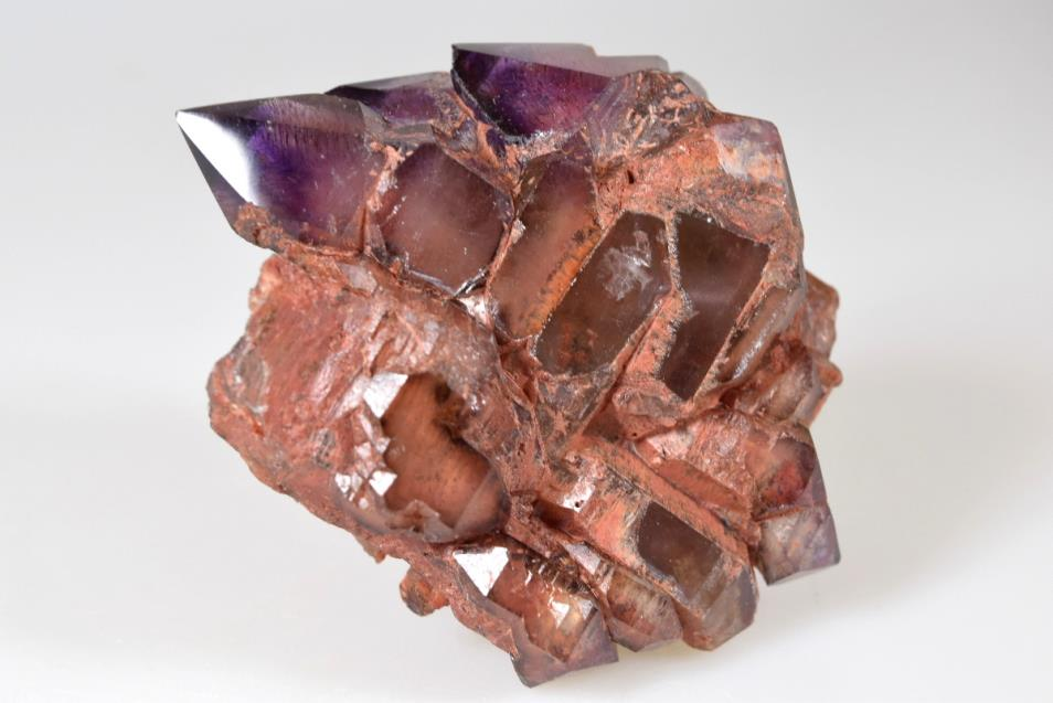 Amethyst Elestial Sceptre with Inclusions 168 grams | Image 1