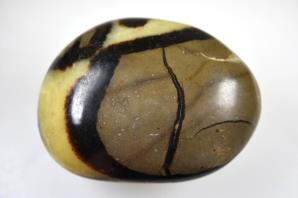 Yellow Septarian Pebble 7.3cm | Image 2