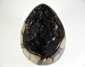 Black Septarian Egg 13cm | Image 2