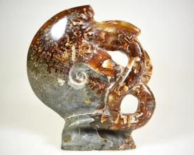 Ammonite Carving 9.5cm | Image 3
