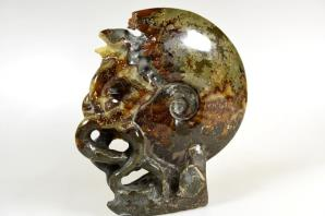 Ammonite Carving 17.5cm | Image 4