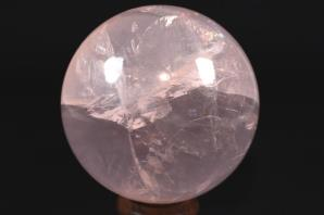 Star Rose Quartz Sphere 8.1cm | Image 2