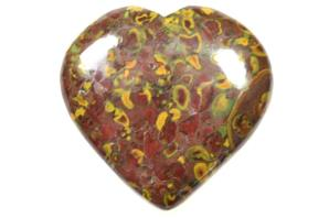 Fruit Jasper Heart 6.8cm | Image 2