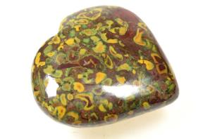 Fruit Jasper Heart 6.8cm | Image 3