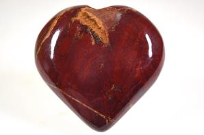 Red Jasper Heart 6.2cm | Image 2