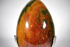 Fancy Jasper Egg 23cm | Image 3