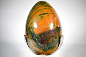 Fancy Jasper Egg 23cm | Image 6
