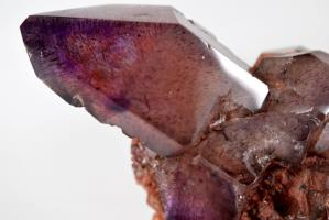Amethyst Elestial Sceptre with Inclusions 140 grams | Image 4