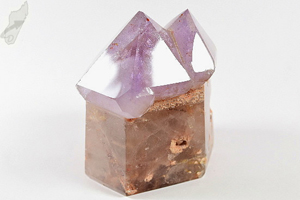 Amethyst Twin Sceptre Quartz Point 542 grams | Image 2
