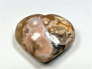 Cherry Blossom Agate Heart 6.7cm | Image 2