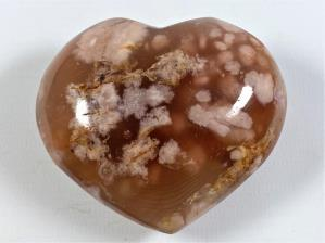 Cherry Blossom Agate Heart 7.2cm | Image 2
