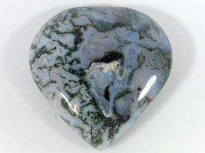 Moss Agate Heart 6.9cm | Image 2