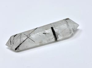 Double Terminated Quartz Point with Tourmaline 7.9cm | Image 2