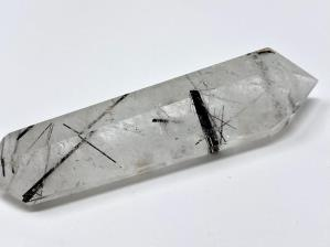 Double Terminated Quartz Point with Tourmaline 7.9cm | Image 3