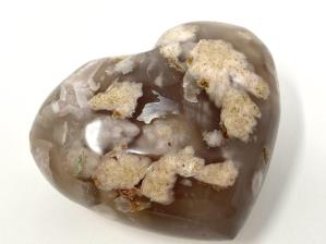 Cherry Blossom Agate Heart 8cm | Image 3