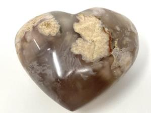 Cherry Blossom Agate Heart 8cm | Image 2