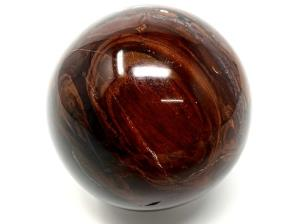 Fossil Wood Sphere 7cm | Image 2