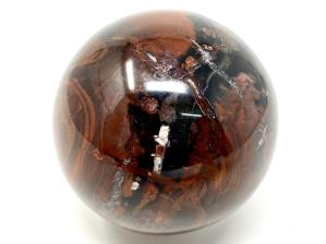 Fossil Wood Sphere 7cm | Image 4