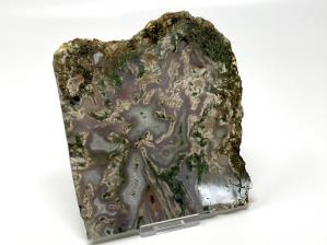 Moss Agate Slice 13.6cm | Image 4