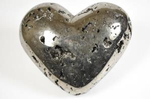 Pyrite Heart Very Large | Image 3