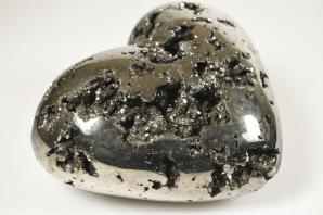 Pyrite Heart Very Large | Image 4