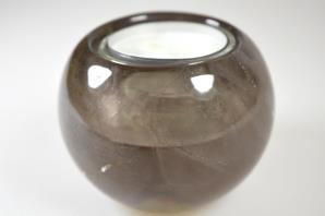 Smoky Quartz Candle Holder 7.55cm | Image 2