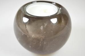 Smoky Quartz Candle Holder 7.55cm | Image 3