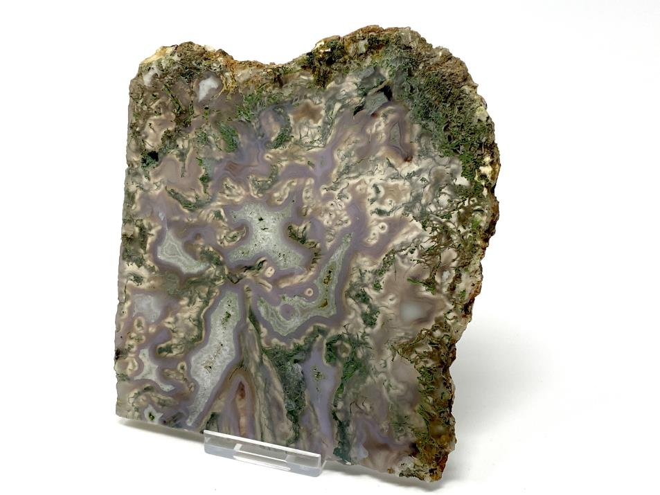 Moss Agate Slice 13.6cm | Image 1