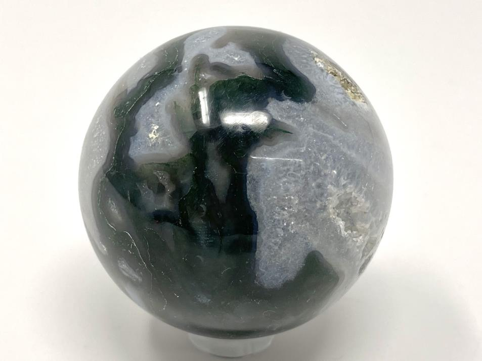 Moss Agate Sphere 5cm | Image 1