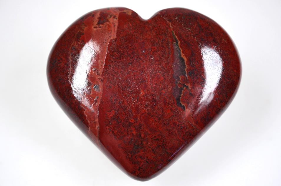 Red Jasper Hearts For Sale