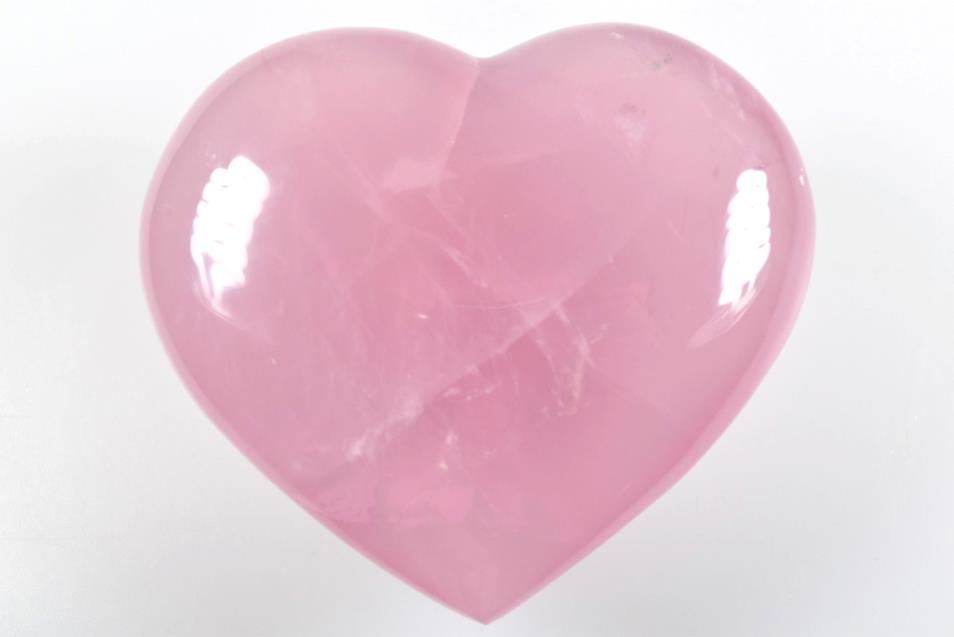 Rose Quartz Hearts For Sale